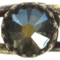 Ring schwarz grun