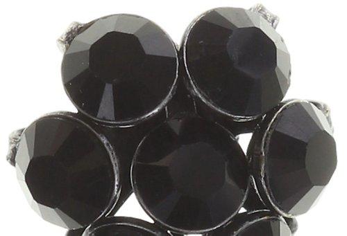 Konplott magic fireball ohrstecker schwarz