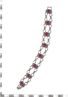 Konplott armband rot